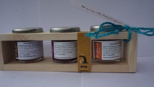 mermelicias cajita 3 mini mermeladas atudespensa perfecta para regalo