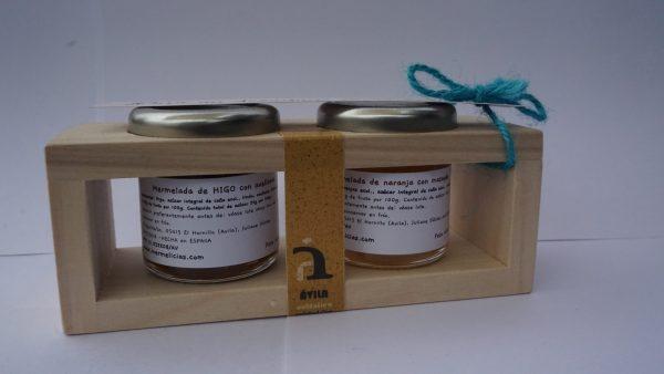 mermelicias cajita 2 mini mermeladas atudespensa perfecta para regalo