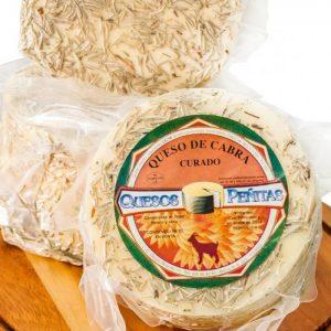 queso de cabra curaodo al romero queseria peñitas